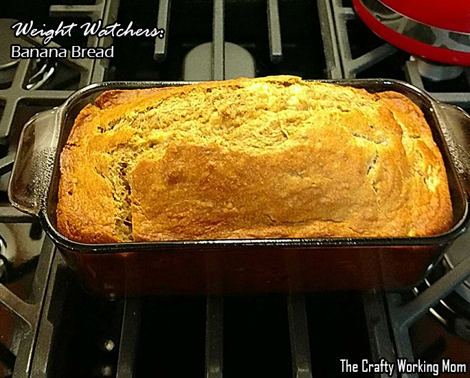 Weight Watchers: Banana Bread