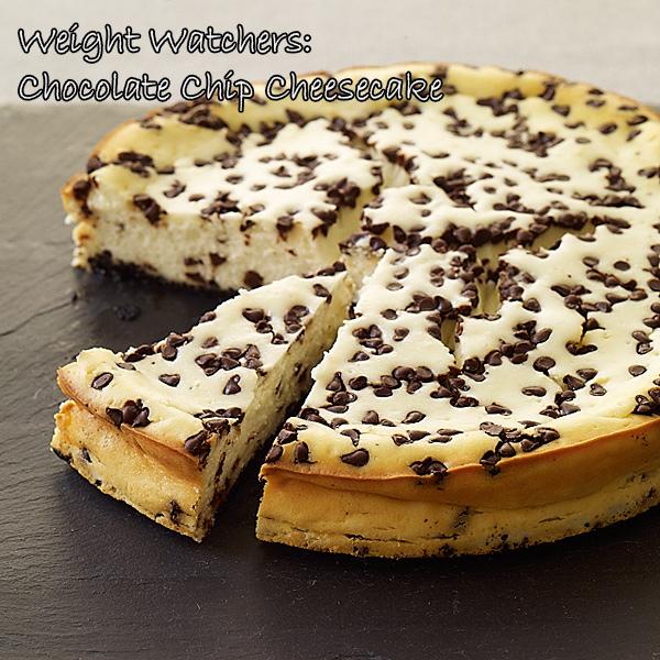 Weight Watchers: Chocolate Chip Cheesecake - The Crafty Working Mom